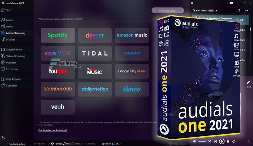 Audials One 1.0.152 Crack With License Key 2021 [Latest]
